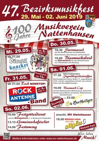 Bezirksmusikfest Nattenhausen